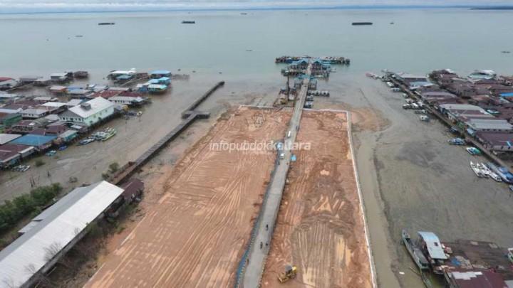 Tahap III, Pelabuhan SDF Telan Rp10 Miliar