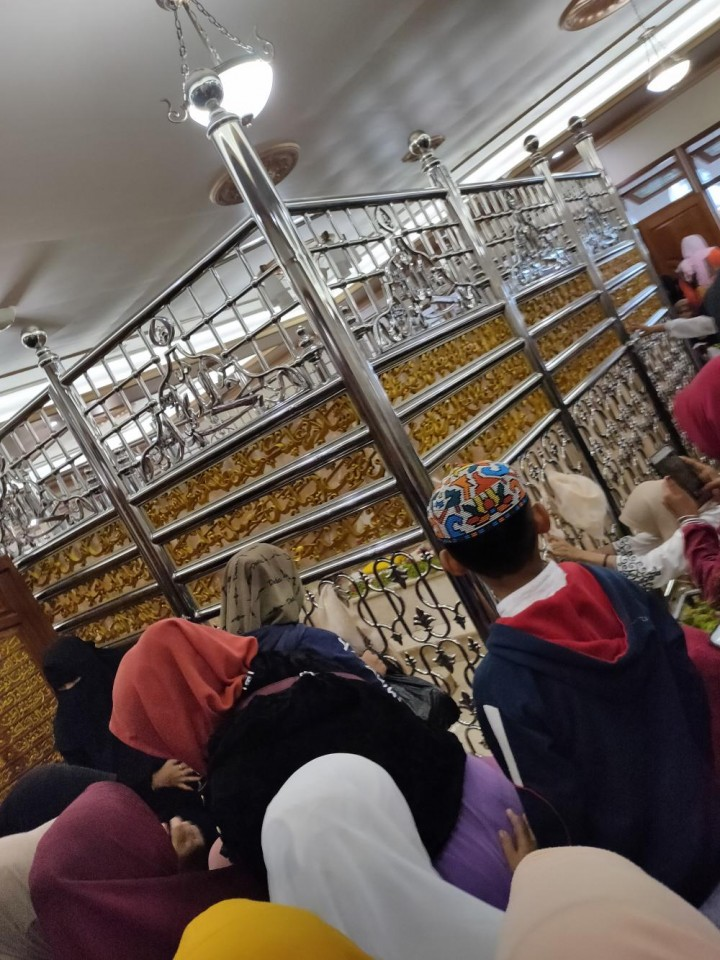 Makanan dan Penginapan Gratis Disediakan Masyarakat Banjarmasin bagi Peziarah Haul Guru Sekumpul
