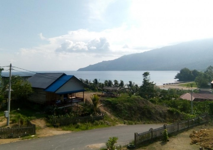 Pesona Alam di Ujung Timur Kaltim Bernama Desa Teluk Sumbang