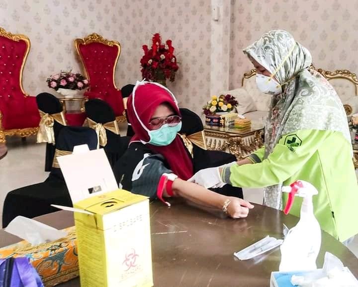 Alhamdulillah, Hasil Rapid Test 3 ODP Bontang Negatif