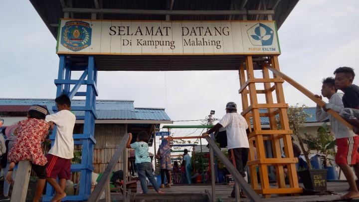 Kampung Malahing Belum Ada Penyemprotan Desinfektan