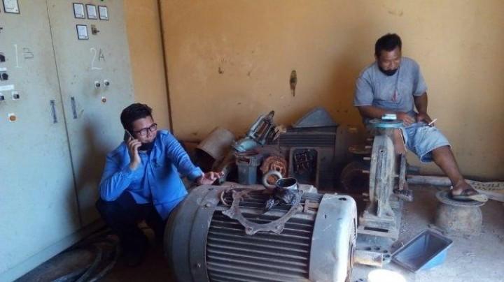 Pompa Transmisi Intake Teluk Dalam Terbakar, Ribuan Pelanggan di 7 Desa Ini Kesulitan Air Bersih