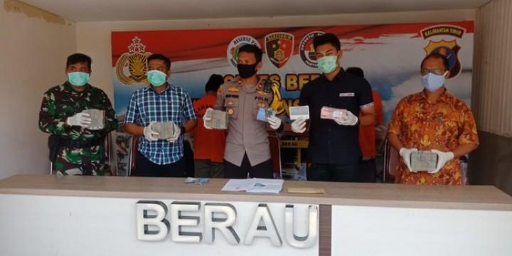 Pungli Rp700 juta, Camat & Kepala Kampung di Berau Ditangkap
