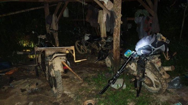 UPTD Tahura Kaltim Temukan Chainsaw dan Sepeda Motor, Diduga Milik Pelaku Pembalakan Liar