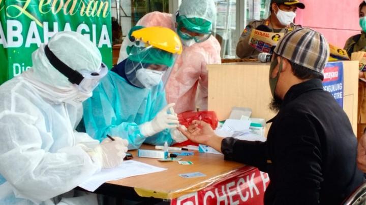 18 Orang dari Rapid Test Massal di Bontang Tunjukkan Hasil Reaktif, Pemkot Jadwalkan Tes Rapid Swab