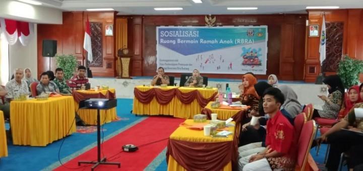 Sosialisasi RBRA, DPPKB Bontang Targetkan Kota Layak Anak