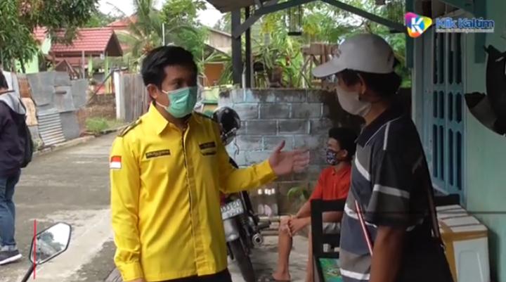 Ketua DPRD Asal Kalimantan Ini Bagikan 1.000 Sembako ke Warga Terdampak Covid-19
