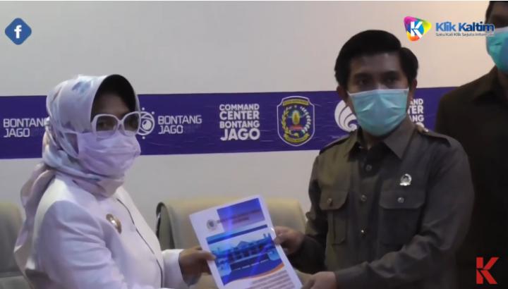 KLIK FLASH : Cegah COvid-19, DPRD Bontang Gelar Rapat lewat Video Conference