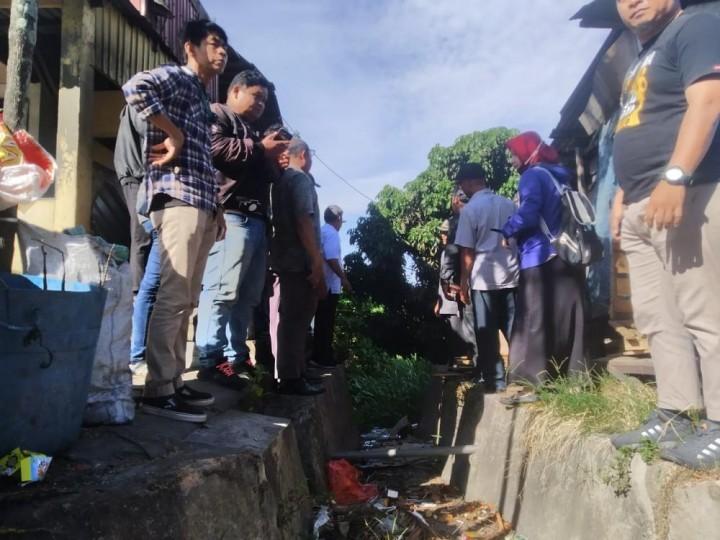 Komisi III DPRD Bontang Tinjau Kondisi Gorong-gorong di Jalan Cipto Mangunkusumo