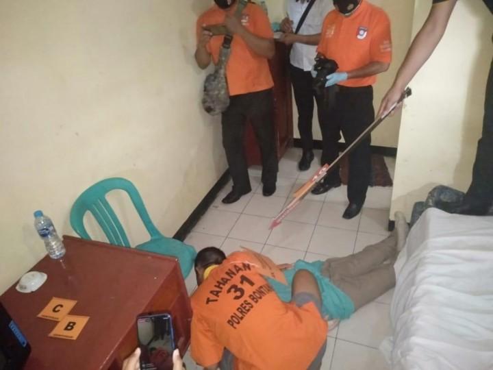 Siasat Pelaku Tutupi Jejak Perbuatanya di Kamar Hotel