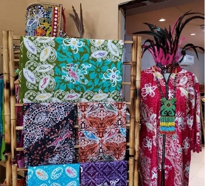 Batik Kuntul Perak, Produk Lokal yang Mendunia