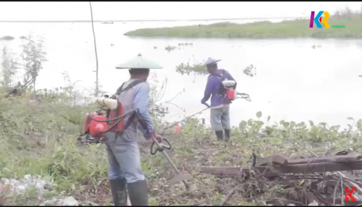 Desa Semayang Bersih-bersih Sambut Wisatawan