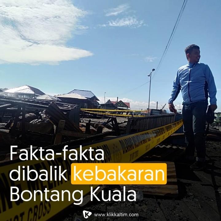 Fakta-fakta Dibalik Kebakaran Bontang Kuala, Kejadian Berulang Persis 5 Tahun Lalu