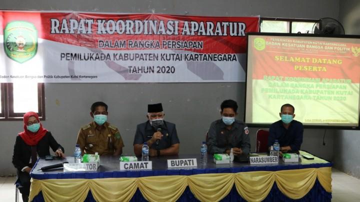 Plt Bupati Kukar Chairil Anwar Ingatkan ASN Bersikap Netral