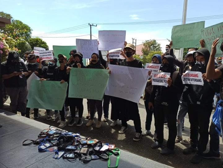Solidaritas Jurnalis Bontang Kutuk Tindakan Represif Oknum Kepolisian