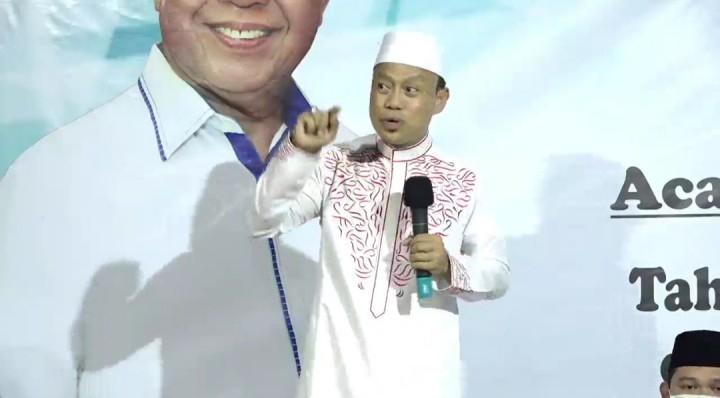 Ustad Kondang Das'ad Latif Rela Jauh-Jauh dari Makassar Demi Gelar Tahlilan Adi Darma