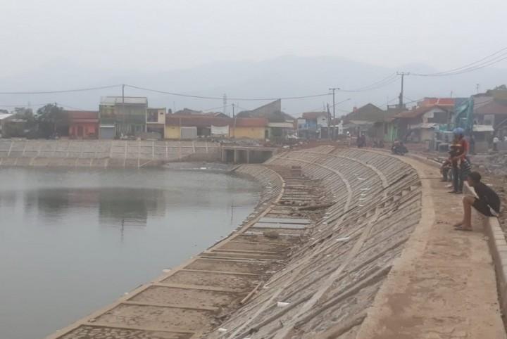Kolam Embung Solusi Banjir Sekaligus Sumber Air Baku di Bontang