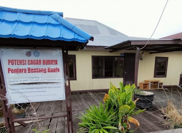 [Tapak Tilas] Bangunan Penjara Belanda di Bontang Kuala