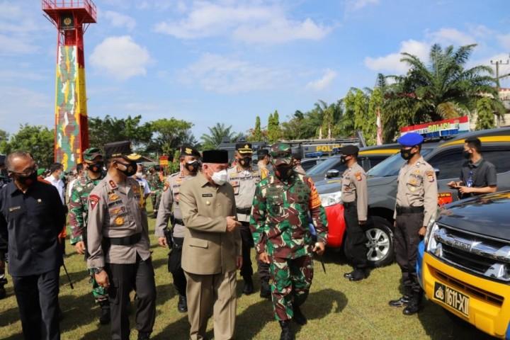 TNI-Polri Bersama Elemen Masyarakat Gelar Apel Kesiapsiagaan
