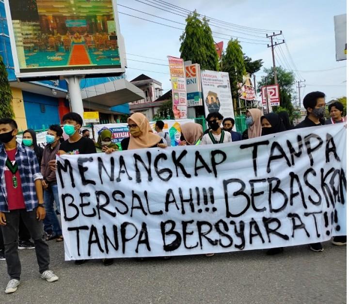Tolak Omnibus Law, Aliansi Pemuda Bontang Melawan Kembali Gelar Demonstrasi
