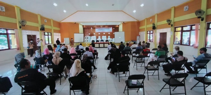 Server KPU Gangguan, Rekapitulasi Suara di Bontang Selatan Dilakukan Manual