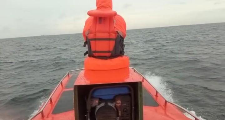 BPBD Bontang Perluas Radius Pencarian Korban Kapal Nelayan yang Hilang di Perairan Serang