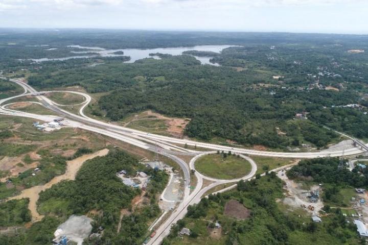 Jalan Tol Balikpapan-Samarinda Tuntas Tahun Ini, Pengendara Bisa Langsung Tembus Sepinggan
