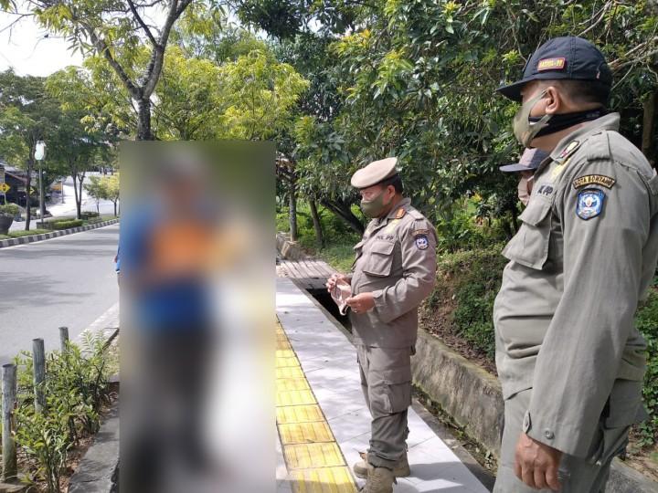 Hari Pertama PPKM Jilid II di Bontang, Petugas Hukum 13 Pelanggar Prokes