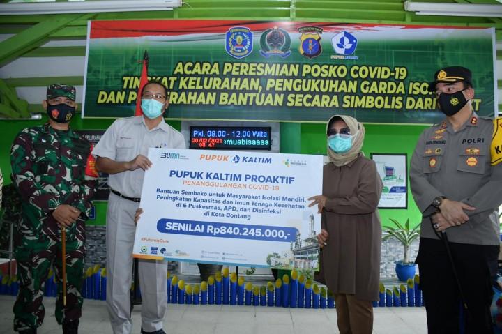 PKT Proactive Covid-19, Salurkan Bantuan Rp840,24 Juta Untuk Tenaga Kesehatan Hingga Warga yang Jalani Isoman