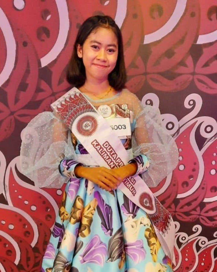 Kiprah Evi, Gadis Asal Bontang yang Tembus Audisi LIDA 2021