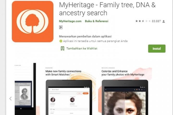 Viral Aplikasi MyHeritage Ubah Foto Orang Seolah Hidup, Begini Cara Pakainya
