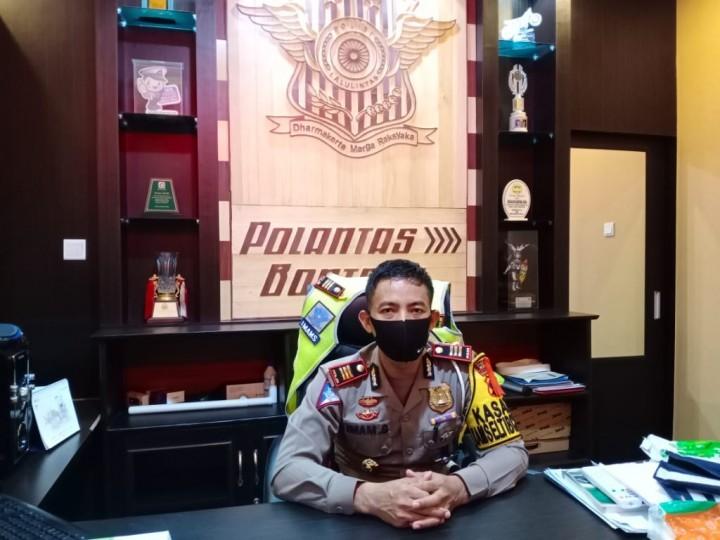 Polantas Bontang Tangkap 5 Motor Pembalap Liar selama Ramadan
