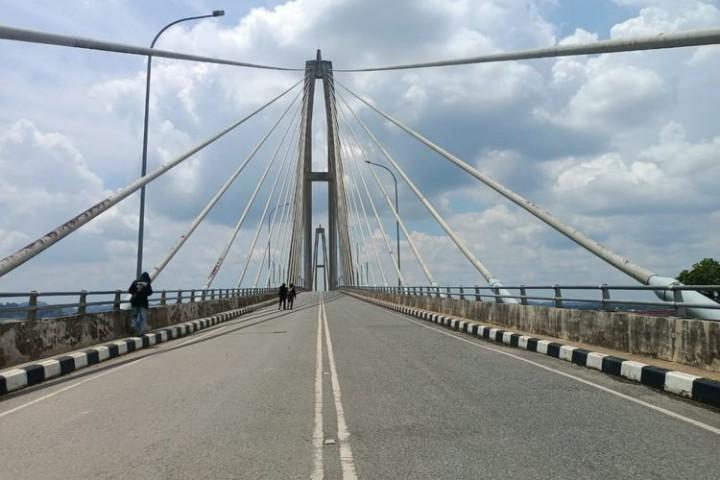 Ditutup 45 Hari, Jembatan Mahkota II Samarinda Kembali Dibuka