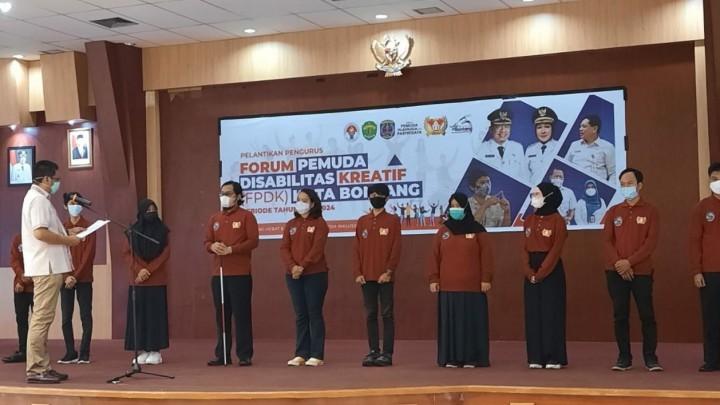 Pertama di Indonesia, Bontang Bentuk Pemuda Disabilitas Kreatif