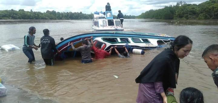 Speedboat di Nunukan Terbalik, 5 Orang Meninggal