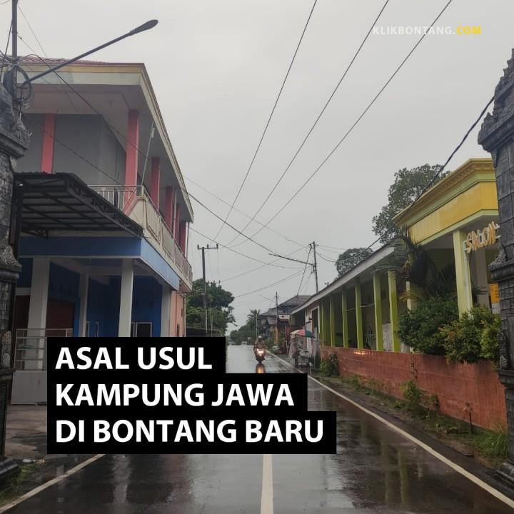 Asal Usul Kampung Jawa di Bontang Baru