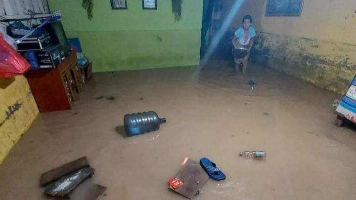 Hujan Lebat Senin Malam, 12 Titik di Bontang Terendam Banjir