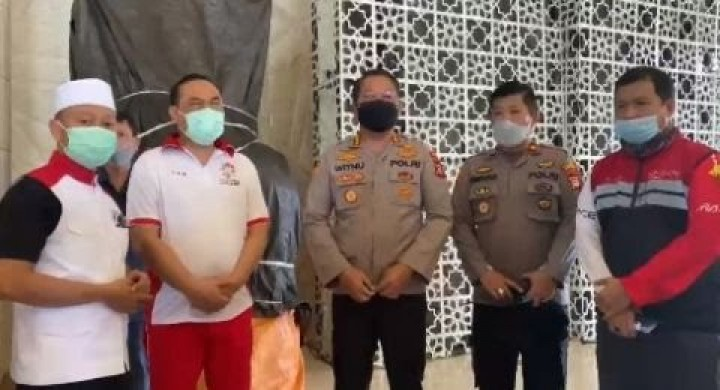 Mimbar di Masjid Raya Makassar Dibakar, Pelaku Kabur Lompat Pagar