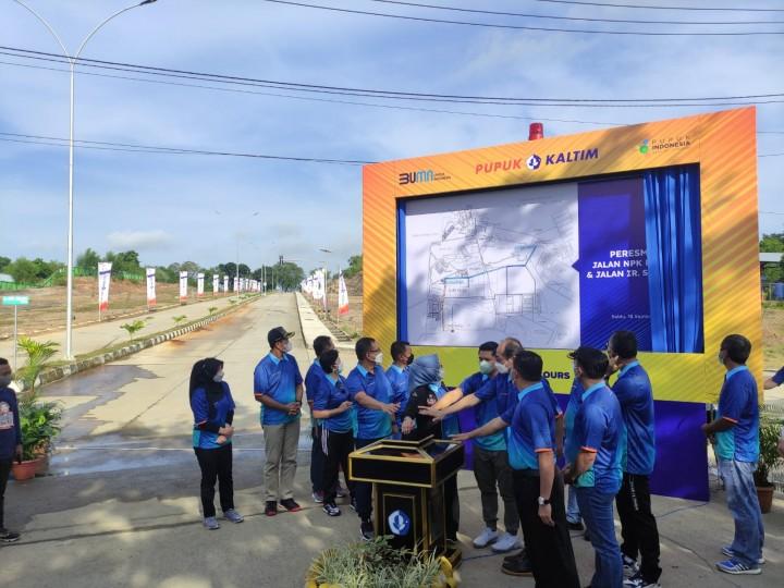 PKT dan Pemkot Resmikan Jalan Ir Suratman dan NPK Pelangi