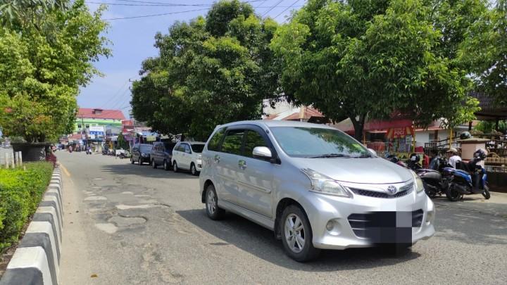 Proyek Perbaikan Jalanan di Kota Bontang Batal Tahun Ini
